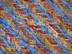 Edward Dwurnik, Wenecja, 1997
