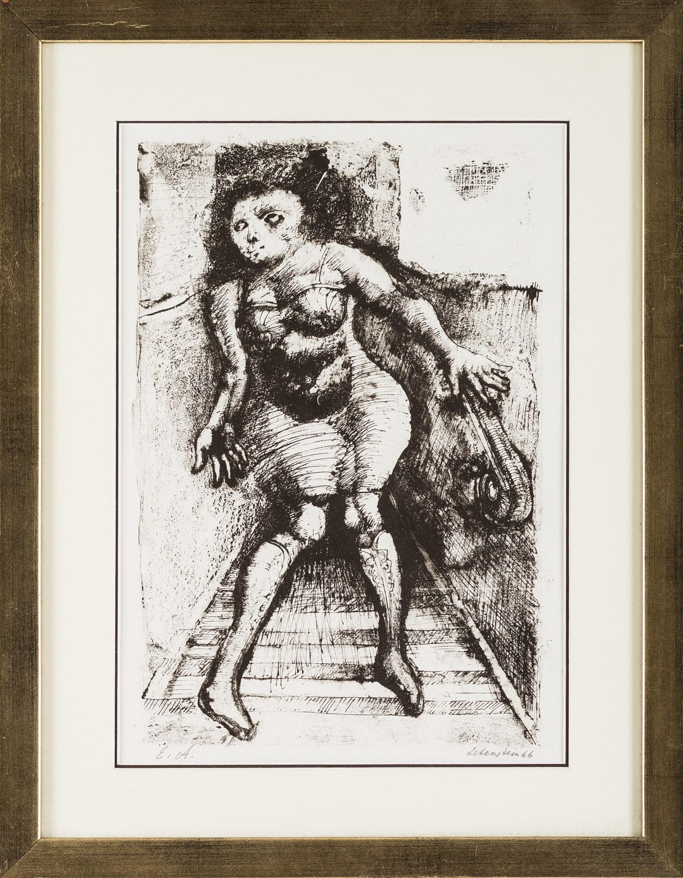 Jan Lebenstein, Corps propre (Ciało własne), 1966