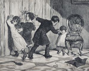 Franciszek KOSTRZEWSKI (1826-1911), Ciekawskie dzieci