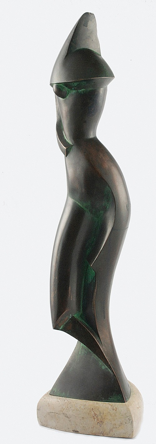 Alexander ARCHIPENKO (1887-1964), Postać - kompozycja kubistyczna