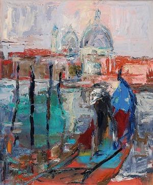 Piotr ŻOŁYNIAK (XX/XXI w.), Gondole w Wenecji
