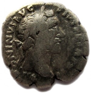 Cesarstwo Rzymskie, Antoniusz Pius (138-161), denar 161 r n e