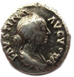 Cesarstwo Rzymskie, Faustyna Młodsza (122-175), denar