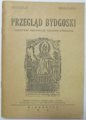 Przegląd Bydgoski, Bydgoszcz 1937, rocznik V - reprint