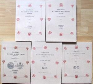 Emeryk hr. Hutten-Czapski, Cataloque de la collection des medailles et monnaies polonnaises, Wydanie Polskie, tom I-V, Kraków 1875-1916, reprint