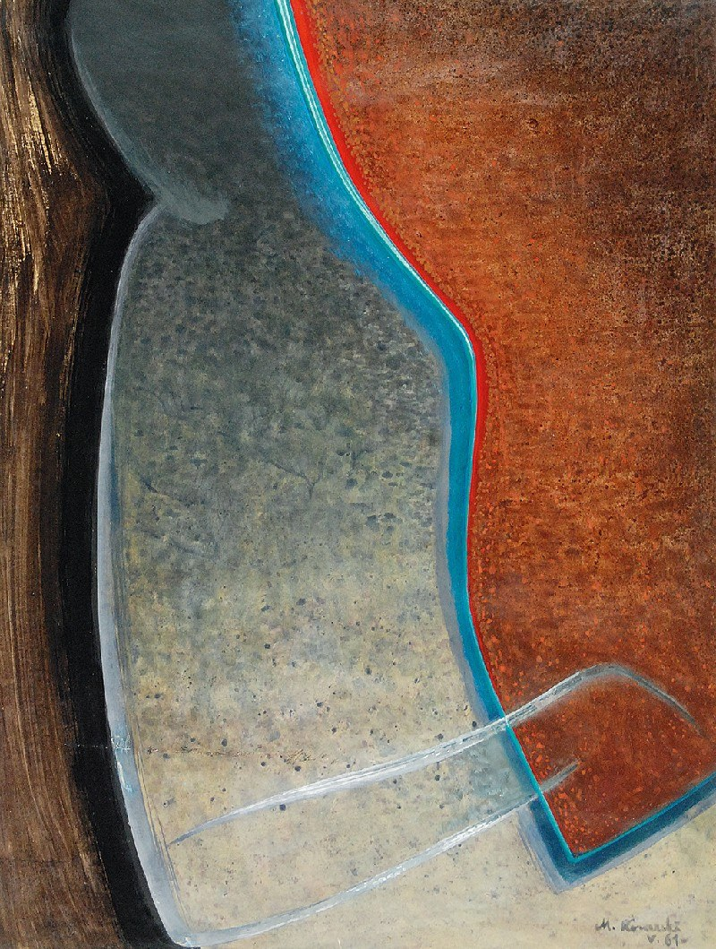 Marian KONARSKI (1909-1998), Sylweta, 1961