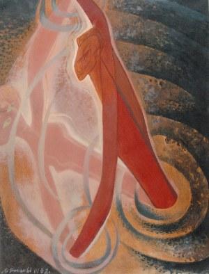 Marian KONARSKI (1909-1998), Taniec, 1962
