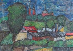 Eugeniusz GEPPERT (1890-1979), Pejzaż z Płocka I