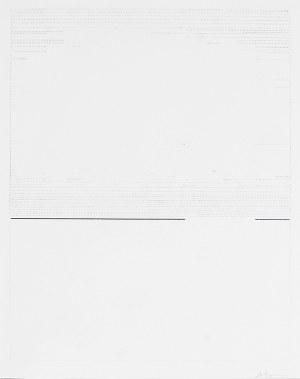 Andrzej ŁOBODZIŃSKI (ur. 1931), Kompozycja z linią