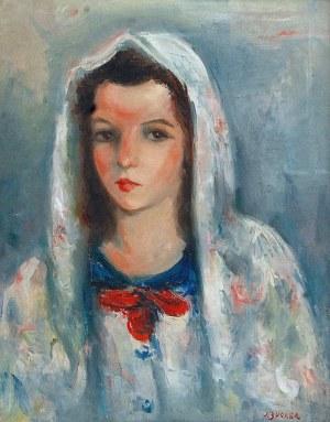 Jakub ZUCKER (1900-1981), Czerwona kokarda