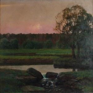 Stefan POPOWSKI (1870-1937), Zachód słońca