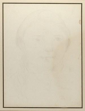 Tadeusz MAKOWSKI (1882-1932), Główka dziewczynki