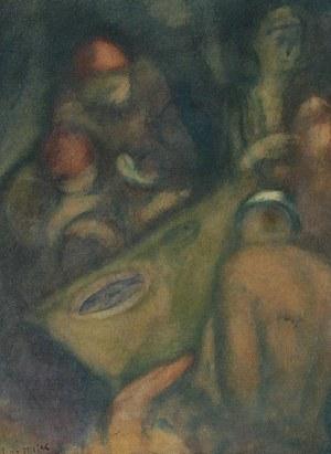 Leopold GOTTLIEB (1883-1934), Posiłek, ok. 1927