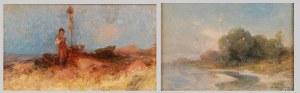Alfonsa KANIGOWSKA (1858-1948), Dwa szkice malarskie