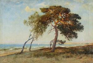 Julius WENTSCHER (1842-1918), Widok na morze, 1911