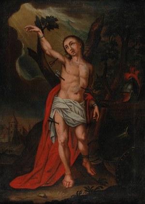 Malarz nieokreślony, XVII / XVIII w., Święty Sebastian