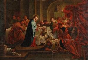 Malarz nieokreślony, XVIII w., Ustanowienie sakramentu Eucharystii, ok. 1800