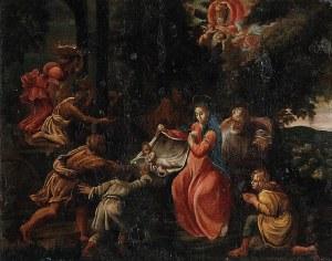 Malarz nieokreślony, XVIII w., Adoracja pasterzy