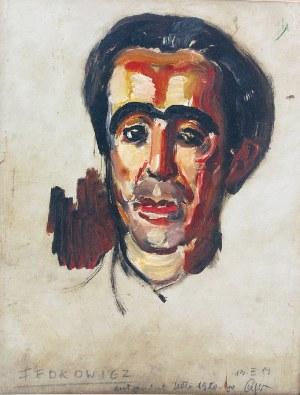 Jerzy FEDKOWICZ (1891-1959), Autoportret, ok. 1920