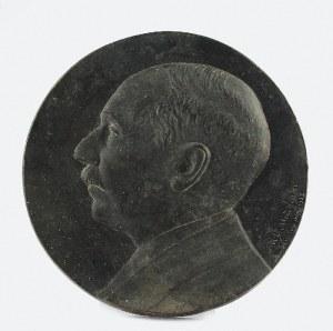 Antoni MADEYSKI (1862-1939), Medalion portretowy Jana Albina barona Goetza-Okocimskiego (1864-1931)