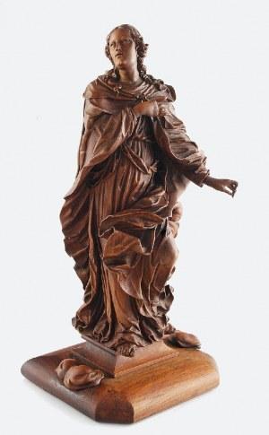 Figurka nieustalonej Świętej
