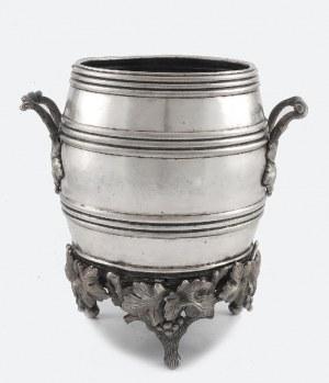 Fabryka Wyrobów Srebrnych i Platerowanych J. Fraget (firma czynna 1824-1944), Krater do chłodzenia wina