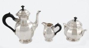 DELHEID FRERES (firma czynna od lat 30. XIX w. - do ok. 1980), Komplet do kawy art déco