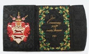 Teka na dokumenty z herbem pomorskiej rodziny von Kleist