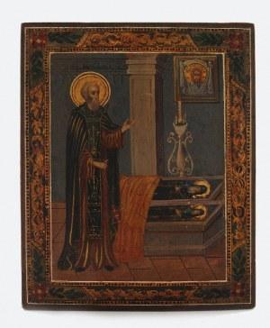 Ikona z wyobrażeniem Św. Siergieja Radoneżskiego
