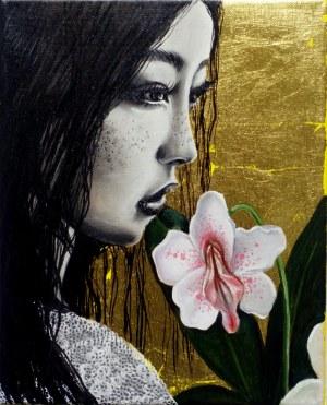 Marta Julia Piórko, Dziewczyna z kwiatem, 2019