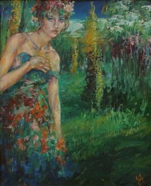 Klaudiusz Abramski, Flora z cyklu Ogrody mojej wyobraźni (1998)