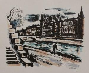 Michel Adlen (1898-1980), Sekwana w Paryżu
