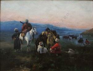 Tadeusz Ajdukiewicz? (1852-1916), Czerkiesi