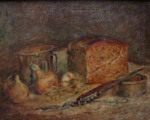 Stanisław Appenzeller (1901-1980), Martwa natura z bochenkiem chleba