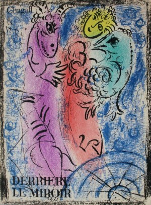 Marc Chagall (1887-1985), Okładka