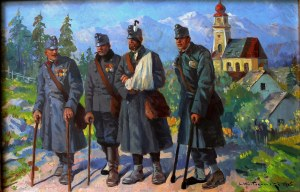 Leonard Winterowski (1868-1927), Weterani wojenni (1915)