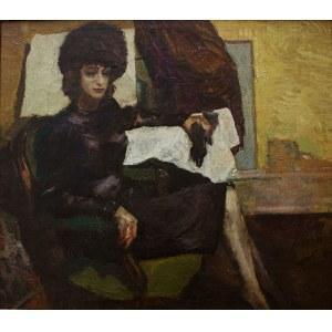 A.N.(XX w.), Kobieta w fotelu