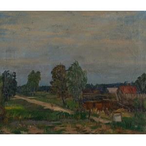 Edward Kokoszko (1900 Izdebno k.Grodziska Maz. – 1962 Warszawa), Pejzaż z Kadzidła