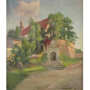Wawrzyniec Chorembalski (1888 Zawichost – 1965 Warszawa), Klasztor reformatów w Kazimierzu, 1951 r.