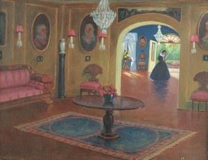 Bronisława Rychter-Janowska (1868 Kraków – 1953 tamże), W salonie