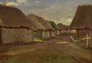 Jan Gasiński (1903 Wólka Grodziska – 1967 Gdynia), Chałupy w Suwałkach, 1931 r.