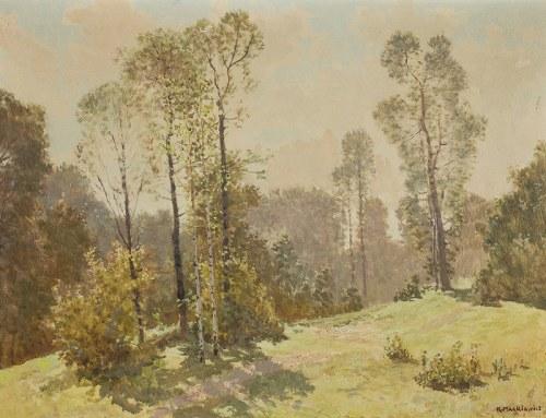 Konstanty Mackiewicz (1894 Małoryta/k. Brześcia – 1985 Łódź), Pejzaż