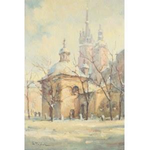 Henryk Sajdak (1905–1995), Kościół Św. Wojciecha na Rynku Krakowskim