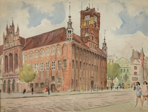 Władysław Serafin (1905 Kraków – 1988 tamże), Ratusz Staromiejski w Toruniu