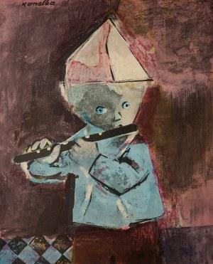 Rajmund Kanelba (1897 Warszawa – 1960 Londyn), Chłopiec z fletem