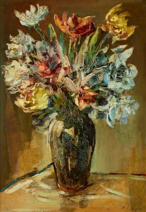 Zbigniew Litwin (1914–2001), Bukiet kawiatów w wazonie
