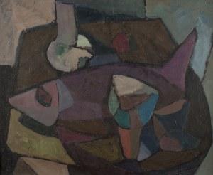 Kazimierz Podsadecki (1904 Zabierzów – 1970 Kraków), Fioletowa ryba, 1956 r.