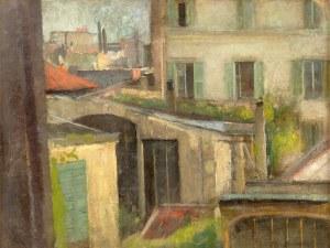 Olga Boznańska (1865 Kraków – 1940 Paryż) Widok z paryskiej pracowni artystki, 1907 r.