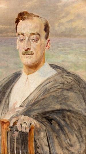 Jacek Malczewski (1854 Radom – 1929 Kraków) Portret mężczyzny, 1914 r.