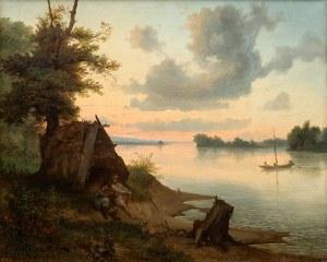 Wojciech Gerson (1831 Warszawa – 1901 tamże) Brzegi Wisły, 1853 r.